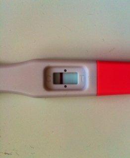 Graviditetstest positiv FALSK