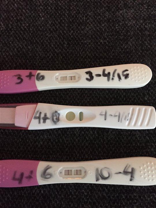 Graviditet brunt udflåd