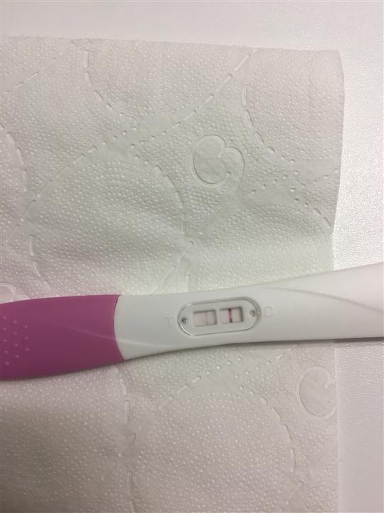 Graviditetstest positiv Den positive