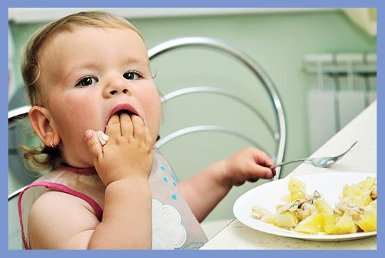 Baby 28. uge - Får dit barn mos eller fingermad/BLW? - Min