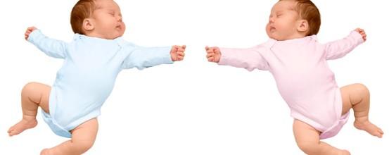 Sådan opstår enæggede tvillinger
