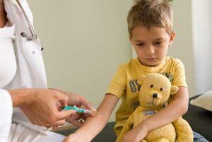 Børnevaccinationsprogrammet – skema over tidspunkter