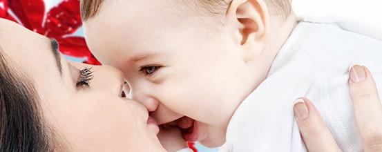 Smil til din baby!