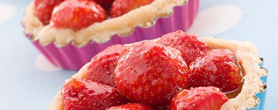 Jordbærtærte – Bagt eller vaniljecreme?