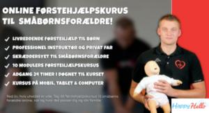 Online førstehjælpskursus til din baby
