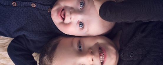 To fødsler to dejlige drenge