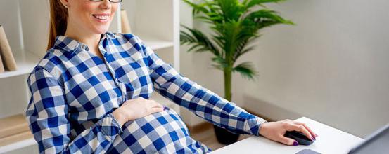 Forandrer synet sig under graviditet?