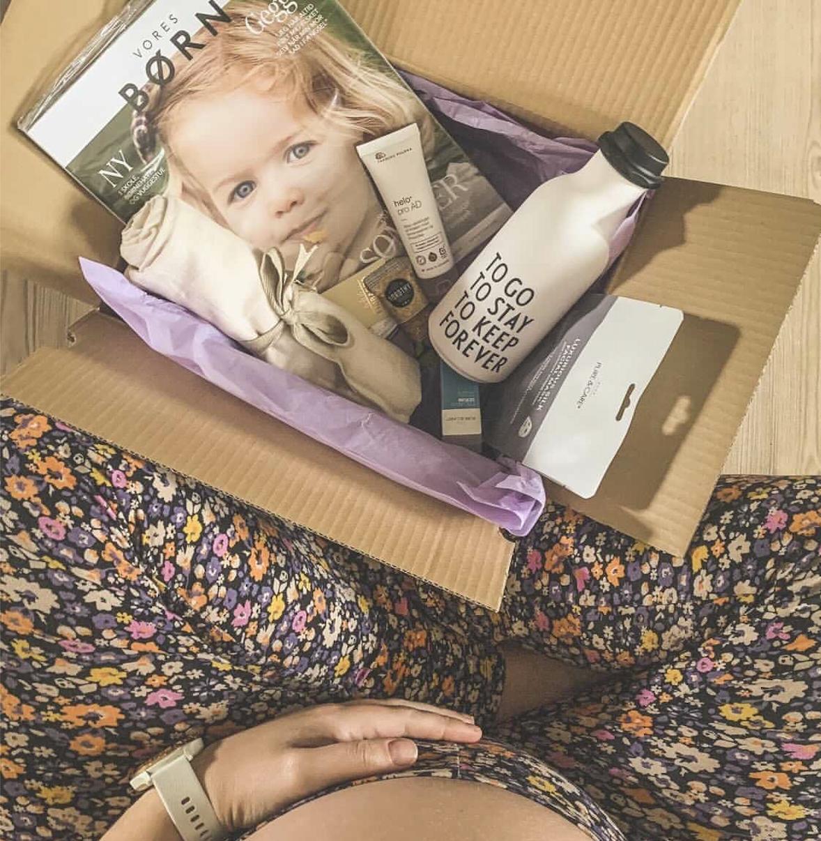 Boks til gravide fokuserer på forkælelse til den vordende mor